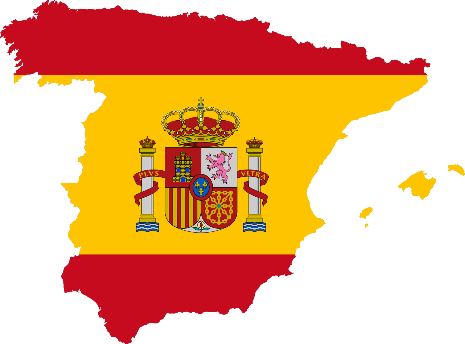 Spain flag feature