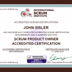 Agile Scrum Product-Owner Certification