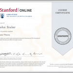 Game Theory Certificate